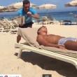 VIDEO YouTube - Antonio Cassano fa gavettone a Criscito in spiaggia 6