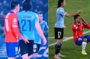 """Copa America, Jara ha provocato Cavani: """"Tuo padre si fa vent'anni di galera"""""""