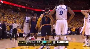 Basket: finali Nba; Lebron trascina Cavaliers, ora è 1-1