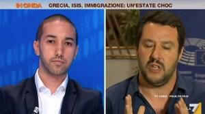 "VIDEO YouTube - Matteo Salvini a Khalid Chaouki: ""Non bere durante Ramadan"""