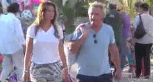 Claudia Galanti e Tommaso Buti a Forte dei Marmi. Niente crisi VIDEO