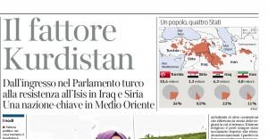 L'articolo e la mappa del Corriere della Sera