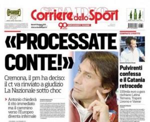 """""""Antonio Conte sarà rinviato a giudizio"""" per frode sportiva, scoop Corsport"""