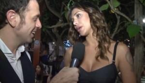 """Belen Rodriguez: """"Se andrei con Cristiano Ronaldo? No, ha i brufoli"""""""
