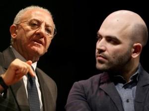 """Vincenzo De Luca contro Saviano: """"Si inventa Camorra per non restare disoccupato"""""""