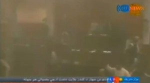 VIDEO YouTube. Esplosione nel parlamento di Kabul: boato e fumo