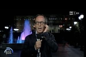 Fabio D'Alfonso, giornalista Porta a Porta: Io aggredito in piazza a Atene VIDEO