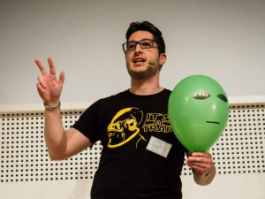 FameLab, vince Luca Perri: ha svelato l'errore della vita su Marte in 3 minuti
