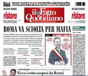 """Marco Travaglio sul Fatto Quotidiano: """"L'ultimo spenga la luce"""""""