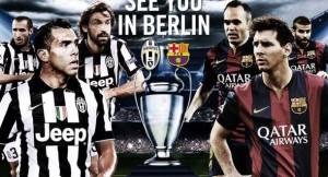 Juventus-Barcellona, diretta tv - streaming: dove vedere finale Champions League