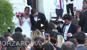 Il matrimonio di Alessandro Florenzi (il video su YouTube)