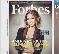 Jessica Alba tra le self-made women più ricche d'America