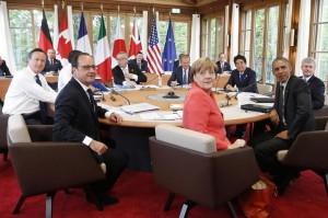 """G7, immigrazione e terrorismo fanno paura: """"Mondo sempre meno sicuro"""""""