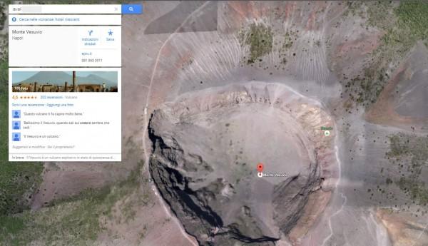 """Google Maps, scrivi """"Lavali"""" esce Vesuvio. Lo scherzo anti Napoli FOTO"""