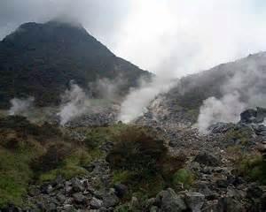 Il vulcano Hakone