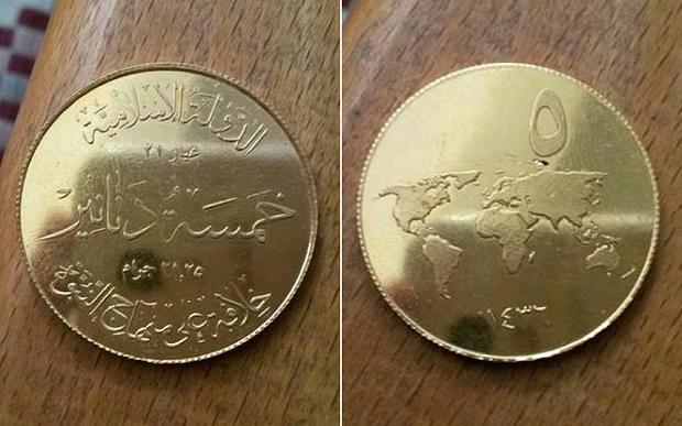 Isis ha una sua moneta: è d'oro, vale 700 dollari