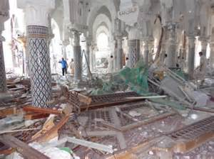 Antico palazzo distrutto a Mosul