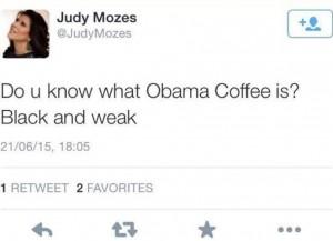 Israele, la moglie del ministro e il tweet razzista contro Obama