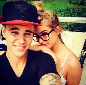 Justin Bieber e Hailey Baldwin,, la foto pubblicata su Instagram