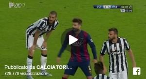 Neymar contro Juve come Del Piero nel 2006... con voce Fabio Caressa