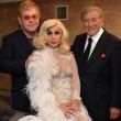 Lady Gaga con l'abito sexy all'incontro con il principe Harry01