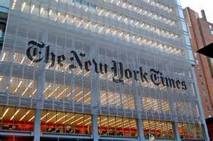 La sede del New York Times a New York
