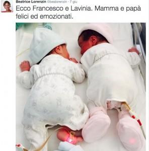 """Beatrice Lorenzin mamma, insulti ai suoi gemellini: """"Gli sgorbi di una sgorbia"""""""