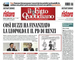 """Marco Travaglio sul Fatto Quotidiano: """"Nuovo Centro Detenuti"""""""