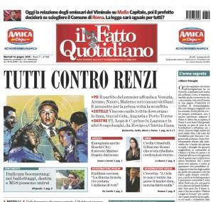 """Marco Travaglio sul Fatto Quotidiano: """"L'arma segreta"""""""