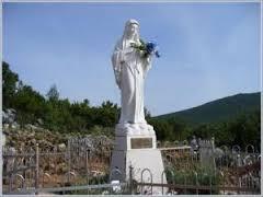 La statua della Madonna di Medjugorje