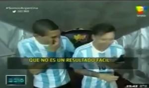 Messi e Di Maria (foto YouTube)