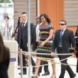 Michelle Obama all'Expo visita il padiglione Italia: abito Missoni FOTO 4