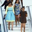 Michelle Obama a Londra con le figlie Sasha e Malia FOTO 6