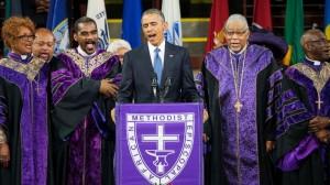VIDEO YouTube - Strage Charleston, Obama canta Amazing Grace ai funerali