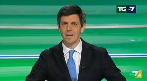 TgLa7: Paolo Celata al posto di Sommajuolo. Condurrà quando Mentana non c'è