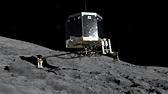 Il lander Philae in atterraggio sulla cometa