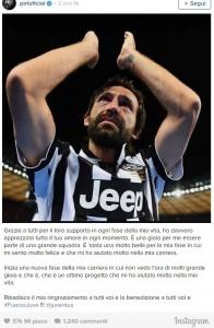 Andrea Pirlo, il falso addio alla Juventus FOTO