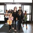 Brad Pitt, Angelina Jolie e famiglia vacanze in Francia11