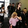 Brad Pitt, Angelina Jolie e famiglia vacanze in Francia12