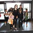 Brad Pitt, Angelina Jolie e famiglia vacanze in Francia14