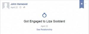 Liza Goddard, 36 anni, sposa un coetaneo e lo tradisce col padre di lui, 74 anni