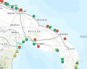 Spiagge Puglia: le 11 fortemente inquinate dove non fare il bagno