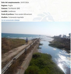 Spiagge puglia le 11 fortemente inquinate dove non fare - Lago di bolsena dove fare il bagno ...