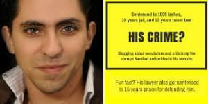 Raif Badawi. 1000 frustate in Arabia Saudita perché? Frasi e pensiero del blogger
