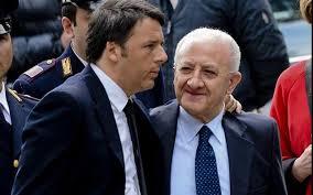 """Renzi: """"Sospenderemo Vincenzo De Luca da governatore come previsto da Severino"""""""