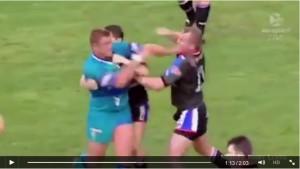 Rugby: quante botte in campo. Altro che fair play VIDEO