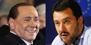 """Salvini-Berlusconi, cena di 3 ore: """"Mandiamo a casa Renzi. Alfano non pervenuto"""""""