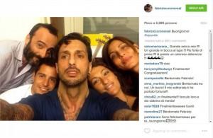 Fabrizio Corona, selfie appena uscito dal carcere FOTO