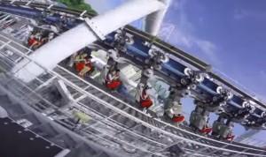 Battlestar Galactica, riapre a Singapore montagna russa più alta del mondo