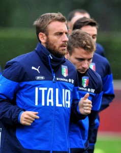 Italia, out De Rossi, Bonaventura e Matri per la Croazia